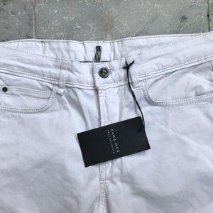 Zara Denim White Jeans Zara Man Slim Fit Pant